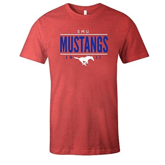 NCAA Other - NCAA Smu Mustangs Tradition Tri-Blend T-shirt